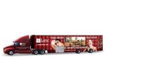 Lane Semi Truck