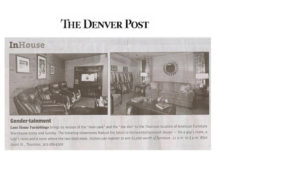 Lane Home Furnishings article in The Denver Post