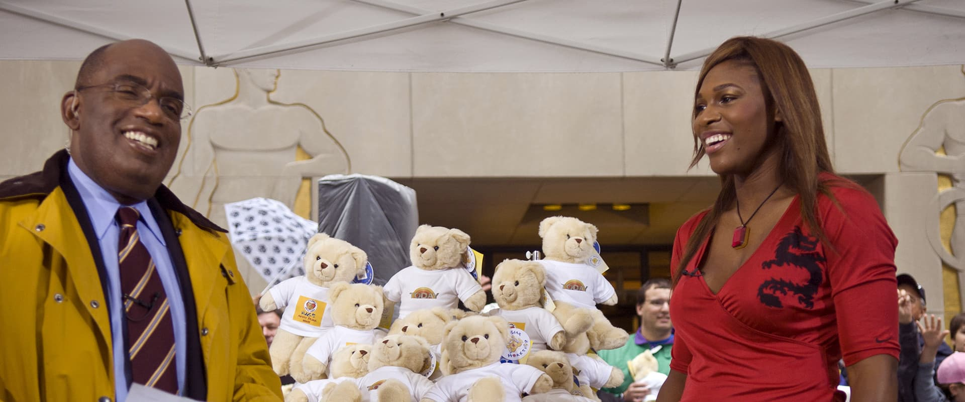 Image of Al Roker from build a bear public relations campaign