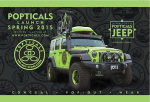 Brand Marketing Popticals Jeep from our Chicago PR firm