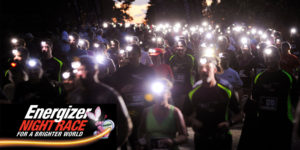 Runners at the Energizer night race